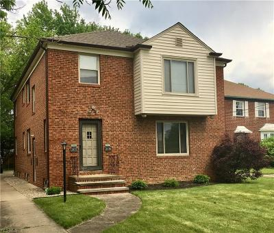 Cleveland OH Multi Family Home Active Under Contract: $220,000
