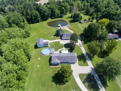 Medina County Single Family Home Active Under Contract: 46419 Whitney Road