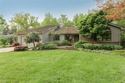 Beachwood Single Family Home Active Under Contract: 26800 Bernwood Road