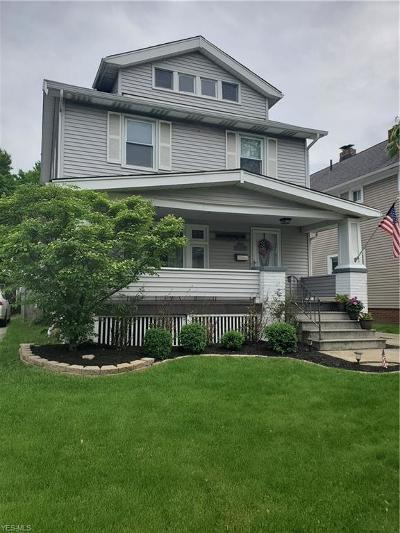Lakewood Single Family Home Active Under Contract: 2205 Brown Road