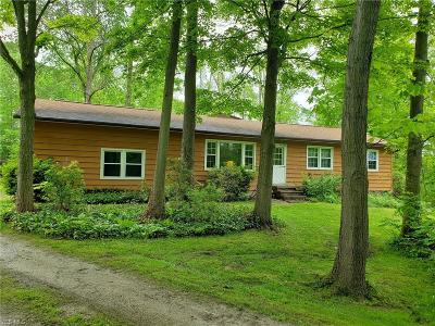 Chardon Single Family Home For Sale: 14130 Rock Creek Road