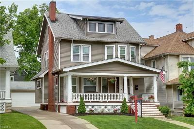 Lakewood Single Family Home Active Under Contract: 1482 Woodward Avenue