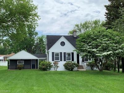 Warren Single Family Home For Sale: 6214 Mines Road