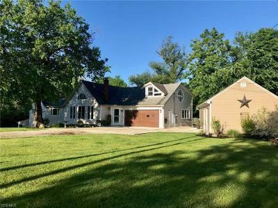 Columbia Station Single Family Home For Sale: 14796 E River Road