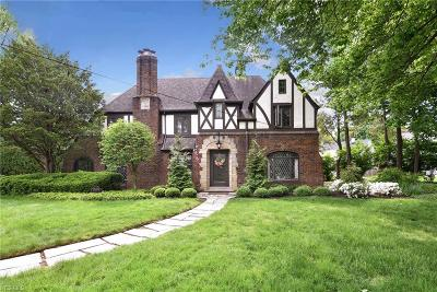 Rocky River Single Family Home Active Under Contract: 21375 Aberdeen Road