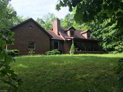 Single Family Home For Sale: 7856 Middle Run Road