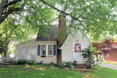 Parma Heights Single Family Home For Sale: 6900 York Road