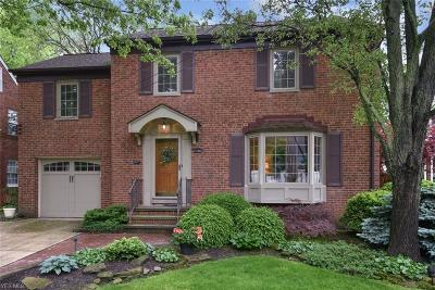 Rocky River Single Family Home Active Under Contract: 21185 Maplewood Avenue