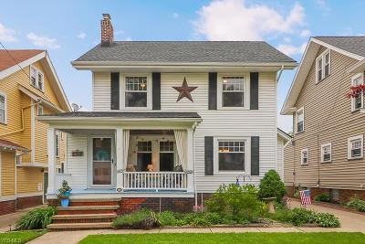 Lakewood Single Family Home Active Under Contract: 1261 Virginia Avenue