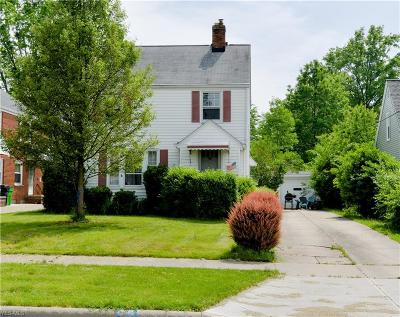 Wickliffe Single Family Home For Sale: 1722 E 291st Street