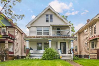 Cleveland Multi Family Home Active Under Contract: 9209 Clifton Boulevard