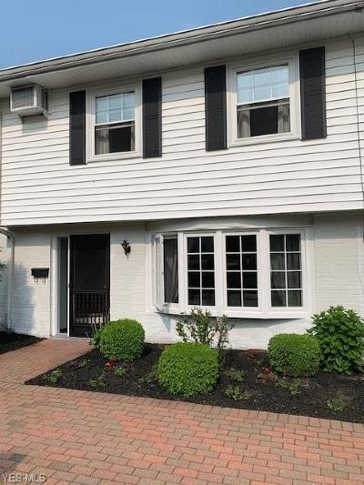 Mentor Condo/Townhouse Active Under Contract: 4 Meadowlawn Drive #4-11