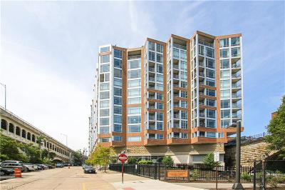 Ohio City Condo/Townhouse For Sale: 2222 Detroit Avenue #607