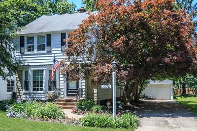 Lyndhurst Single Family Home Active Under Contract: 1376 Clearview Road