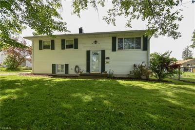 Austintown Single Family Home For Sale: 5711 Baylor