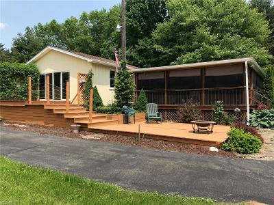 Newton Falls Single Family Home For Sale: 1534 Kale Adams Road