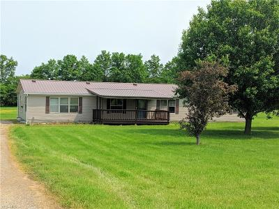 Ashland County Single Family Home For Sale: 1016 Twp. Rd. 462