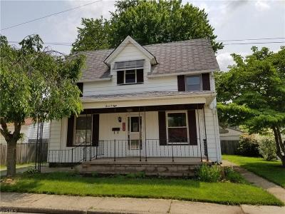 Massillon Single Family Home Active Under Contract: 708 10th Street
