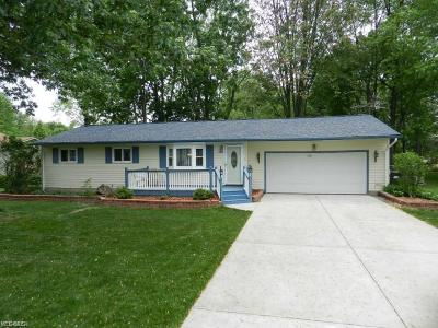 North Ridgeville Single Family Home Active Under Contract: 6094 Jaycox Road