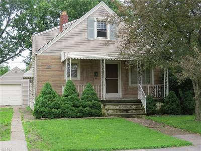 Lorain Single Family Home For Sale: 3311 Dayton Avenue