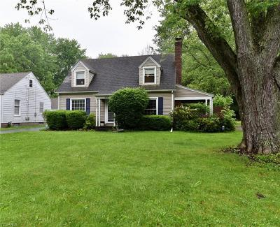 Boardman OH Single Family Home Active Under Contract: $104,999