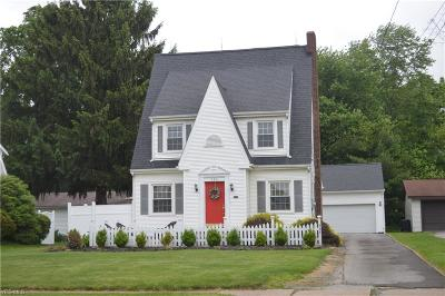 Columbiana Single Family Home Active Under Contract: 354 N Main Street