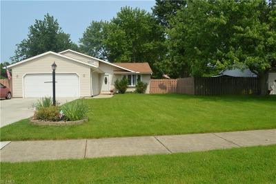 North Ridgeville Single Family Home For Sale: 6205 Rhonda Drive