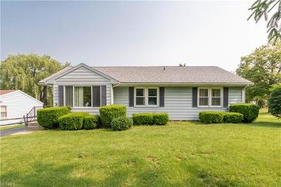 Poland Single Family Home For Sale: 2930 Center Road