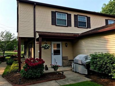 Reminderville Condo/Townhouse Active Under Contract: 3417 Beaver Trail #B
