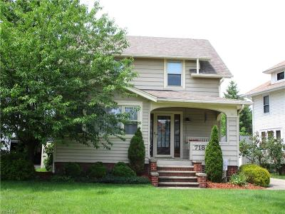 Lorain Single Family Home For Sale: 718 Mildred Avenue
