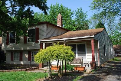 Fairview Park Single Family Home For Sale: 4309 W 223rd Street