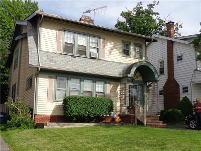 Lakewood Multi Family Home Active Under Contract: 1643 Bunts Road