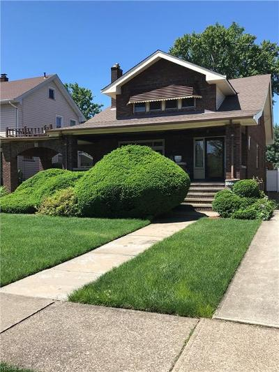 Cleveland Single Family Home For Sale: 3844 W 158th Street