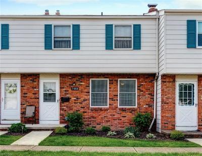 Mentor Condo/Townhouse For Sale: 7460 Duke Court