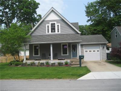 Avon Lake Single Family Home Active Under Contract: 267 South Point Drive