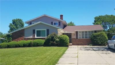 Solon Single Family Home Active Under Contract: 32820 Charmwood Oval