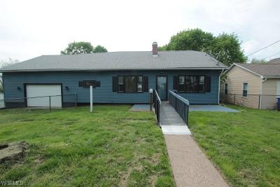 East Liverpool Single Family Home Active Under Contract: 2203 Pickering Street