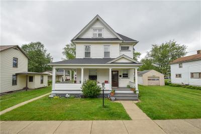 Leetonia Single Family Home For Sale: 403 Somer Street