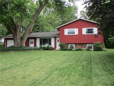 Painesville Single Family Home Active Under Contract: 168 Meadows Drive