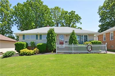 Cleveland Single Family Home For Sale: 2957 Jeanne Drive