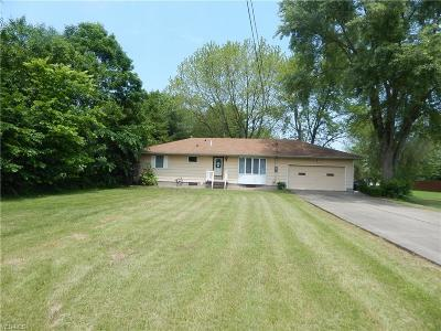 Lordstown Single Family Home For Sale: 1410 Carson Salt Spring