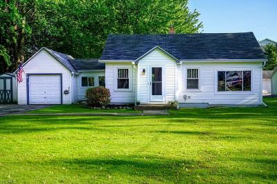 Mentor-On-The-Lake Single Family Home For Sale: 7826 Linden Street