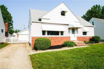 Willowick Single Family Home Active Under Contract: 753 Pendley Road