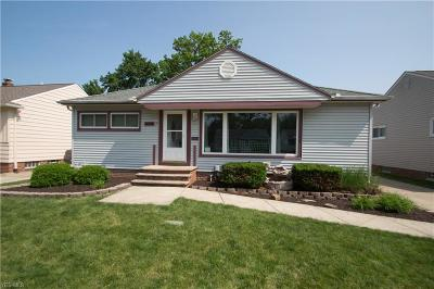 Willowick Single Family Home For Sale: 29215 Green Drive