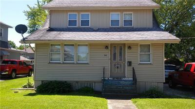 Newton Falls Single Family Home For Sale: 312 Arlington Boulevard