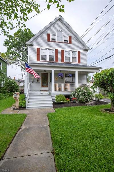 Lakewood Single Family Home Active Under Contract: 1335 Giel Avenue