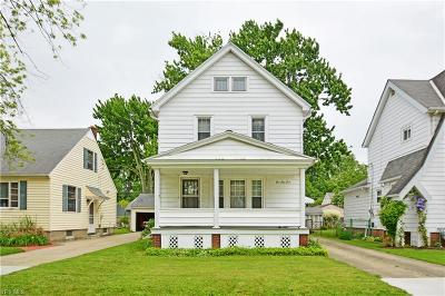 Elyria Single Family Home Active Under Contract: 255 Pasadena Avenue