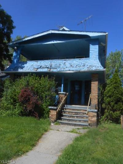 Cleveland Multi Family Home Active Under Contract: 474 E 110th Street