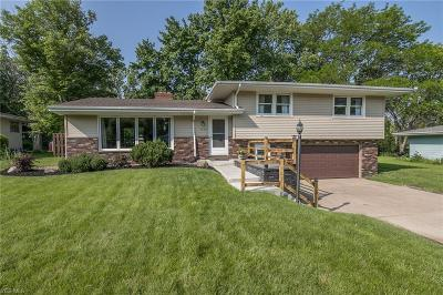 Middleburg Heights Single Family Home Active Under Contract: 7658 Ragall