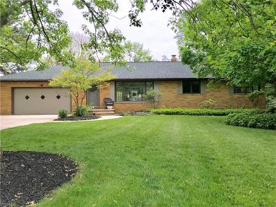 Broadview Heights Single Family Home For Sale: 2419 Hollylane Drive